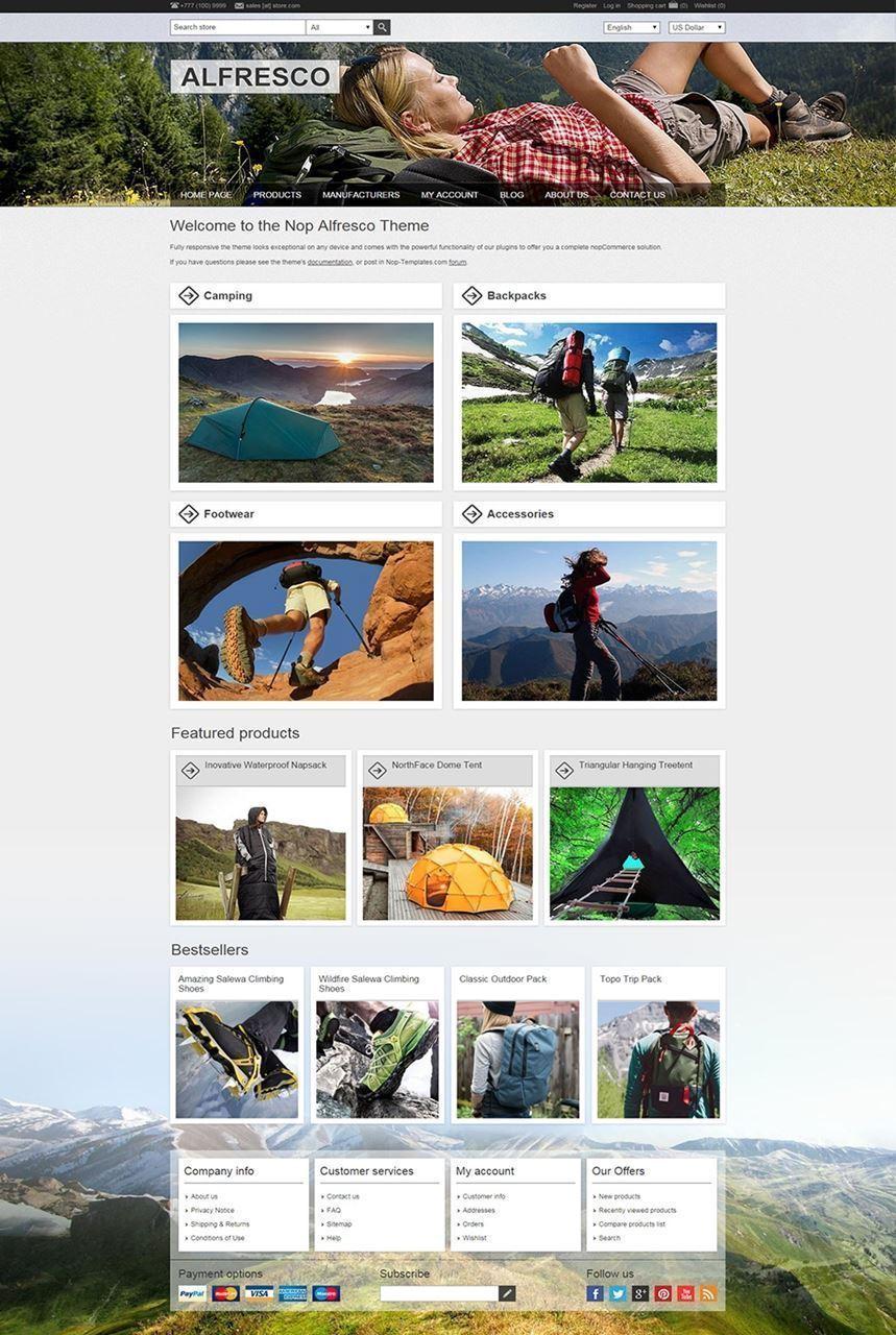 تصویر 1 تم ناپ کامرس - alfresco-responsive-theme-for-nopcommerce