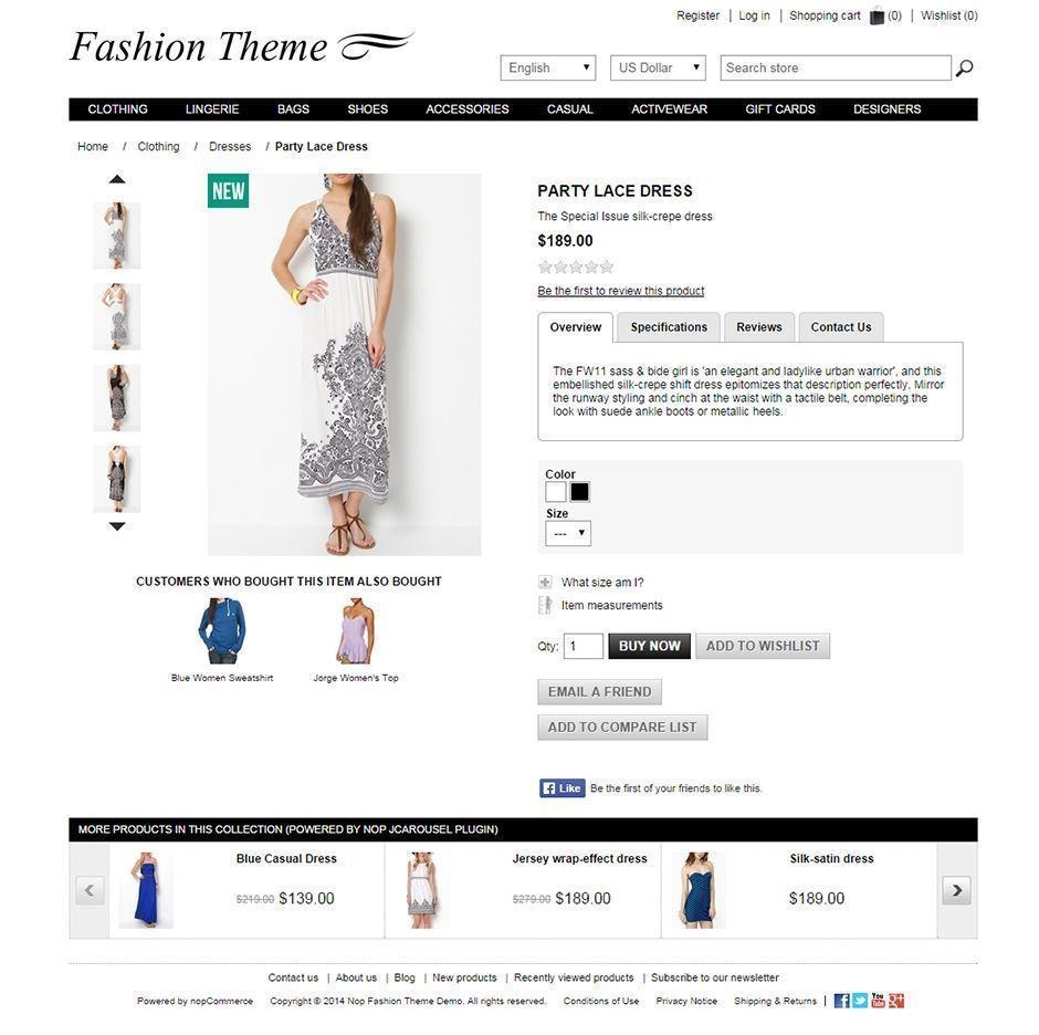 تصویر 3 تم ناپ کامرس - Fashion-responsive-theme-for-nopcommerce