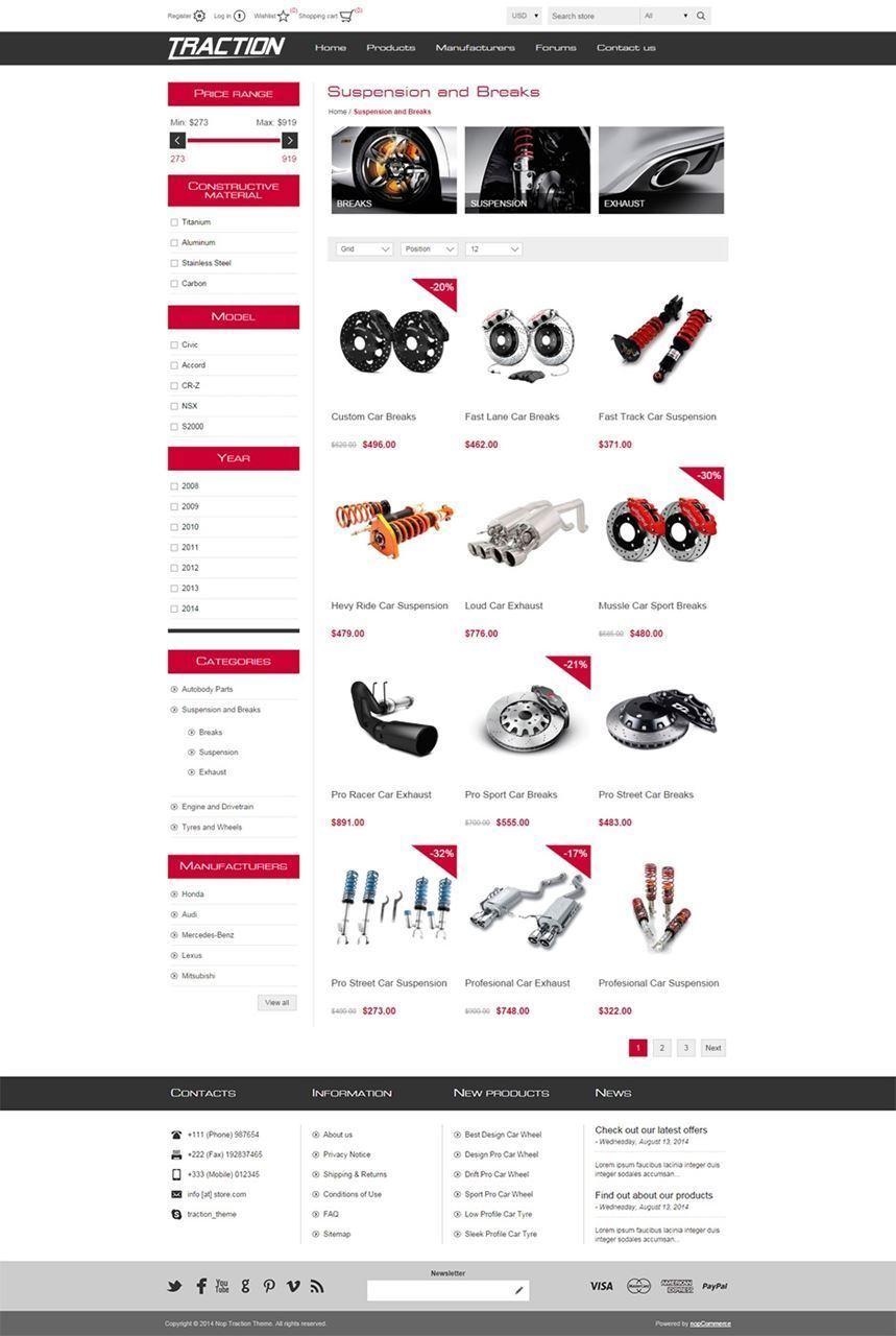 تصویر 5 فروشگاه ناپ کامرس - traction-responsive-theme-for-nopcommerce