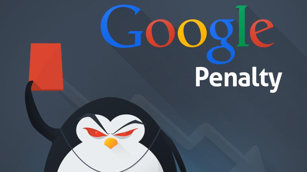 گوگل پنالتی یا جریمه گوگل چیست؟